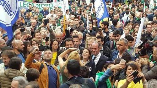 Verona Manifestazione 25 aprile 2017